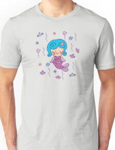 CUTE MERMAID BIRTHDAY PARTY Unisex T-Shirt