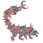 Fierce Chimeric Beast by Adam Heffler / Foobix Design