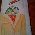toad cravat by Jaimee Fryer