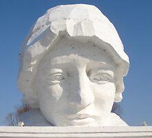 Snow Sculpture at Harbin Ice Carnival by Alecia Hoobing