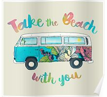 Take The Beach With You Poster