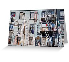 Chinatown San Francisco Greeting Card