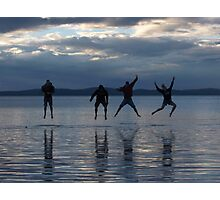 Four Leaping Friends Photographic Print