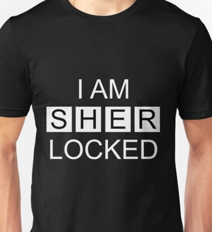 I Am Sherlocked v2.0 Unisex T-Shirt