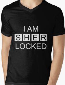 I Am Sherlocked v2.0 Mens V-Neck T-Shirt