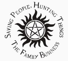 Supernatural Family Business Baby Tee