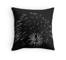 Firework 11 Throw Pillow