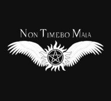 Supernatural Non Timebo Mala v2.0 Kids Tee