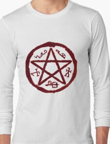 Supernatural Devil's Trap v2.0 Long Sleeve T-Shirt