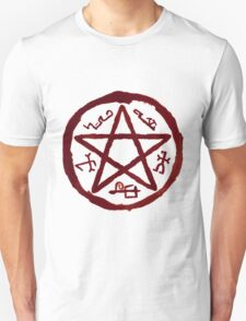 Supernatural Devil's Trap v2.0 Unisex T-Shirt