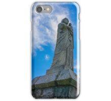 Hilltop statue iPhone Case/Skin
