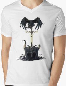 Dark Times Mens V-Neck T-Shirt