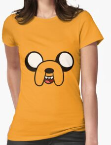 T-Shirt Adventure Time Jake the Dog Womens Fitted T-Shirt