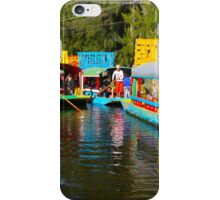 Xochimilco's Floating Gardens in Mexico City iPhone Case/Skin