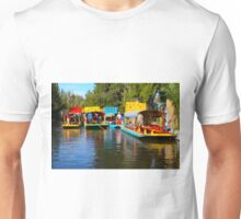 Xochimilco's Floating Gardens in Mexico City Unisex T-Shirt