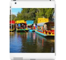 Xochimilco's Floating Gardens in Mexico City iPad Case/Skin