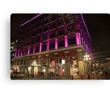 100 Water Street Canvas Print