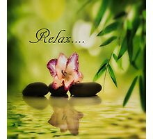 Relax Photographic Print