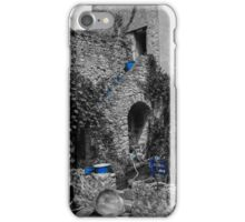 Blue staircase iPhone Case/Skin