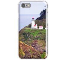 Heceta Head Lighthouse - Oregon Heceta Lighthouse iPhone Case/Skin