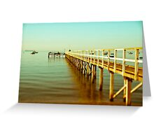Summer days Greeting Card