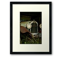 The 'Old Girl'... Framed Print