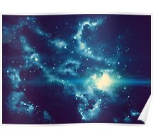 Universe Background 2 Poster