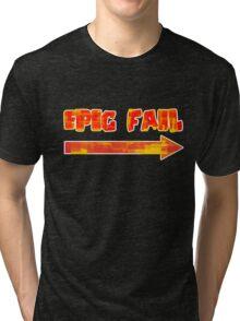 Epic Fail (colourful) Tri-blend T-Shirt