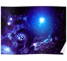 Universe Background 3 Poster