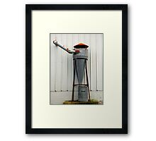 """Chinese Star Wars (R2-D2 Waves Hello)"" Framed Print"