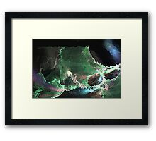 Keyhole Shift Framed Print