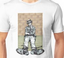 Harold Lloyd One of Those Days Drawing Unisex T-Shirt