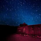 SPINNING FOR YOU - DEATH VALLEY AT NIGHT by j ellis