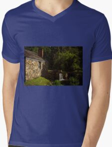 Waterloo Canal Lock Mens V-Neck T-Shirt