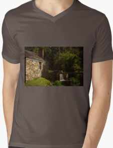 Waterloo Canal Lock Mens V-Neck T-Shirt