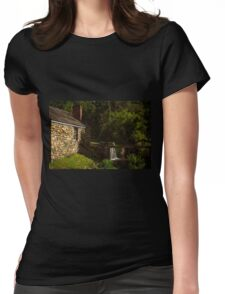 Waterloo Canal Lock Womens Fitted T-Shirt