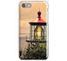 Heceta Head Lighthouse - Sunset At Heceta iPhone Case/Skin