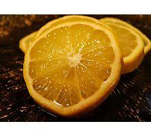 Sour Lemons Photographic Print