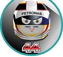 Lewis HAMILTON_2015_Helmet #44 by Cirebox