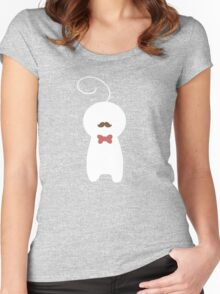 Fancy sup guy t-shirts Women's Fitted Scoop T-Shirt