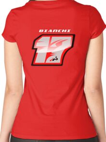 Jules BIANCHI_2014_#17_Helmet Women's Fitted Scoop T-Shirt