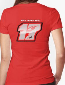 Jules BIANCHI_2014_#17_Helmet Womens Fitted T-Shirt