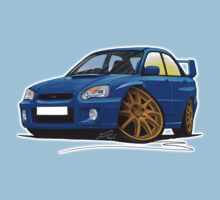Subaru Impreza (2003-06) Blue Kids Clothes