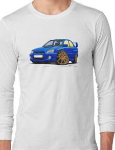 Subaru Impreza (2003-06) Blue Long Sleeve T-Shirt
