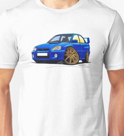 Subaru Impreza (2003-06) Blue Unisex T-Shirt