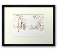 This Is Snow. It Is. Framed Print