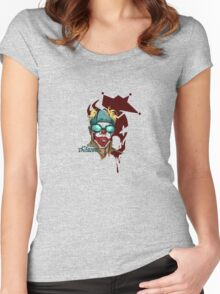 CLown Demonz I Women's Fitted Scoop T-Shirt