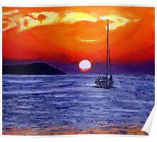 Ibiza Sunset  Poster