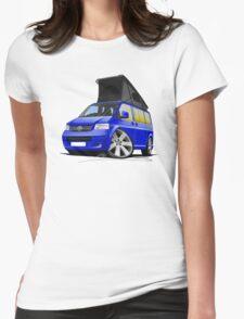 Volkswagen T5 California Camper Van Blue T-Shirt