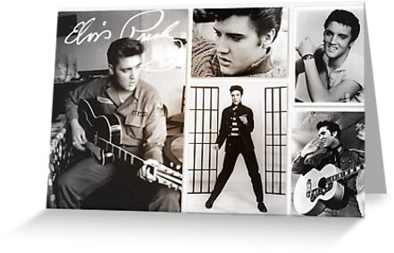 Elvis Presley ~ King of Rock and Roll by ©Shiny  Happy People
